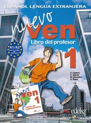 Nuevo Ven 1 Libro del profesor + Audio CD / Підручник для вчителя