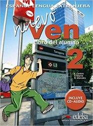 Nuevo Ven 2 Libro del alumno + Audio CD / Підручник для учня