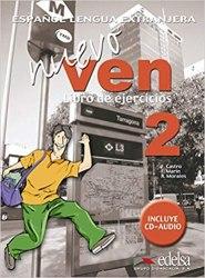 Nuevo Ven 2 Libro del ejercicios + Audio CD / Робочий зошит