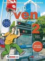 Nuevo Ven 2 Libro del profesor + Audio CD / Підручник для вчителя