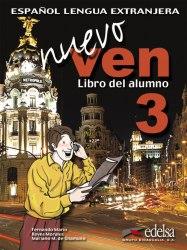 Nuevo Ven 3 Libro del alumno + Audio CD / Підручник для учня