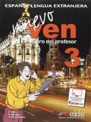 Nuevo Ven 3 Libro del profesor + Audio CD / Підручник для вчителя