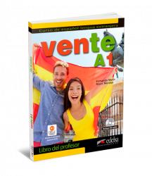 Vente A1 Libro del profesor + CD audio / Підручник для вчителя
