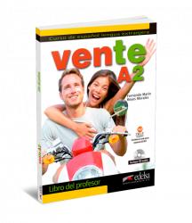 Vente A2 Libro del profesor + CD audio / Підручник для вчителя