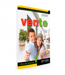 Vente 1 (A1+A2) Libro del alumno / Підручник для учня