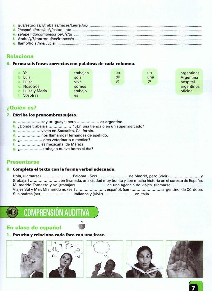 Vente 1 A1a2 Libro De Ejercicios