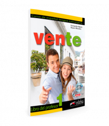 Vente 1 (A1+A2) Libro del profesor + Audio CD / Підручник для вчителя