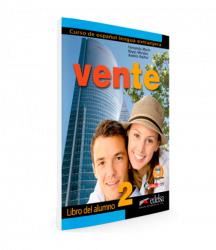 Vente 2 (B1) Libro del alumno / Підручник для учня