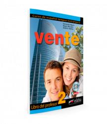 Vente 2 (B1) Libro del profesor + Audio CD / Підручник для вчителя