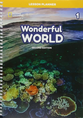 Wonderful World (2nd Edition) 1 Lesson Planner with Class Audio CD, DVD, and Teacher's Resource CD-ROM / Підручник для вчителя