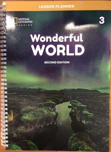 Wonderful World (2nd Edition) 3 Lesson Planner with Class Audio CD, DVD, and Teacher's Resource CD-ROM / Підручник для вчителя