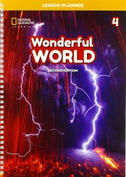 Wonderful World (2nd Edition) 4 Lesson Planner with Class Audio CD, DVD, and Teacher's Resource CD-ROM / Підручник для вчителя