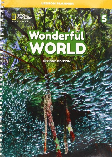 Wonderful World (2nd Edition) 5 Lesson Planner with Class Audio CD, DVD, and Teacher's Resource CD-ROM / Підручник для вчителя
