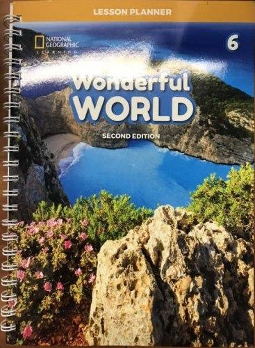 Wonderful World (2nd Edition) 6 Lesson Planner with Class Audio CD, DVD, and Teacher's Resource CD-ROM / Підручник для вчителя