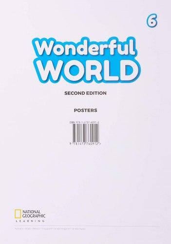 Wonderful World (2nd Edition) 6 Posters / Плакати