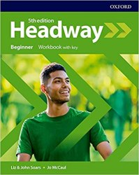 Headway (5th Edition) Beginner Workbook with Key / Робочий зошит