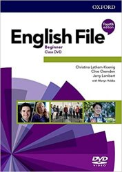 English File (4th Edition) Beginner Class DVDs / DVD диск