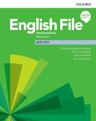 English File (4th Edition) Intermediate Workbook with key / Робочий зошит