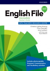 English File (4th Edition) Intermediate Teacher's Guide with Teacher's Resource Centre / Ресурси для вчителя