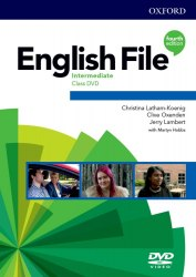 English File (4th Edition) Intermediate Class DVDs / DVD диск