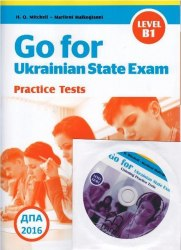 Go for Ukrainian State Exam B1 + CD + Listening Test