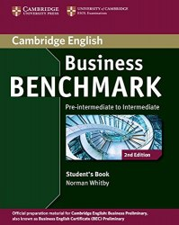 Business Benchmark (2nd Edition) Pre-Intermediate/Intermediate Business Preliminary Student's Book / Підручник для учня