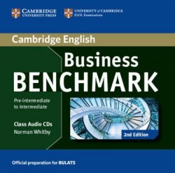 Business Benchmark (2nd Edition) Pre-Intermediate/Intermediate BULATS Class Audio CDs / Аудіо диск