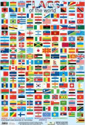 Flags of the World / Плакат