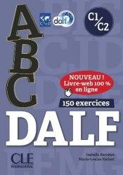ABC DALF C1/C2 avec Corrigés et CD-mp3 / Підручник для учня
