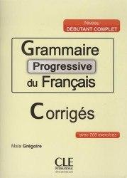 Grammaire Progressive du Français Débutant Complet Corrigés / Брошура з відповідями