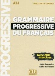 Grammaire Progressive du Français Débutant Complet Livre avec CD audio et Livre-web (Nouvelle couverture) / Граматика