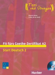Fit fürs Goethe-Zertifikat A2: Start Deutsch 2 mit Audio-CD / Підручник для учня