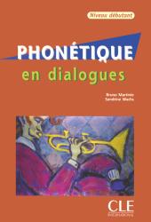 Phonétique en Dialogues Débutant Livre avec CD audio / Підручник для учня