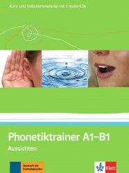 Aussichten Phonetiktrainer A1-B1+CDs / Підручник для учня