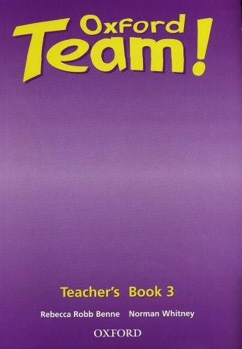 Oxford Team! 3 Teacher's Book / Підручник для вчителя