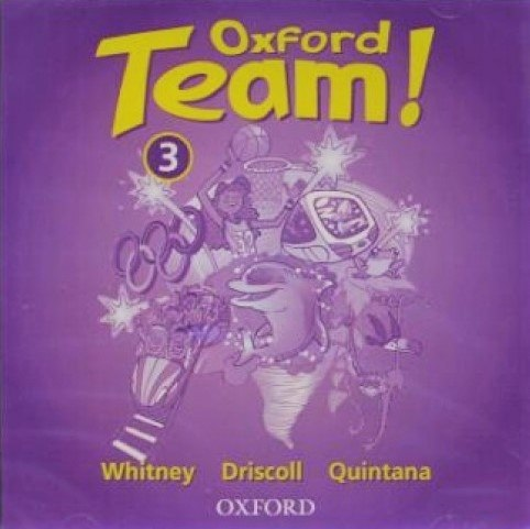Oxford Team! 3 Class CD / Аудіо диск