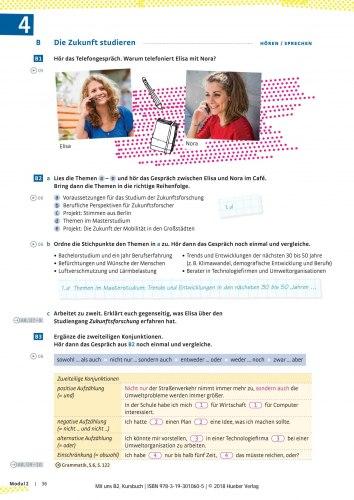 Mit uns B2 Kursbuch / Підручник для учня
