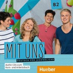 Mit uns B2, 1 Audio-CDs zum Kursbuch, 1 Audio-CD zum Arbeitsbuch / Аудіо диск