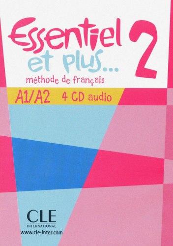 Essentiel et plus... 2 - 4 CD audio / Аудіо диск