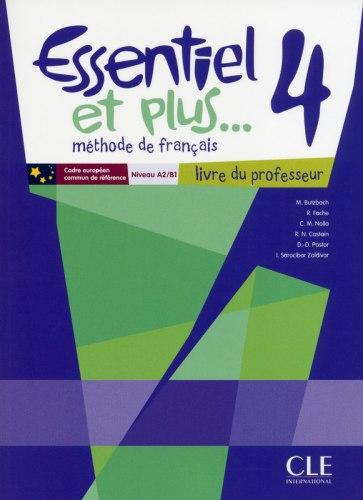 Essentiel et plus... 4 Livre du professeur + CD-ROM / Підручник для вчителя