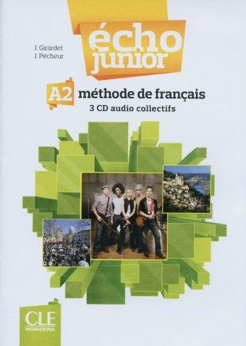 Écho Junior A2 Audio CDs / Аудіо диск