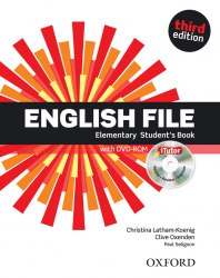 English File (3rd Edition) Elementary Student's Book / iTutor / Підручник для учня