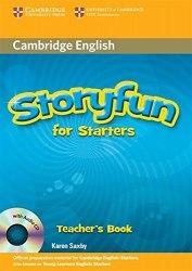 Storyfun for Starters Teacher's Book with Audio CD / Підручник для вчителя