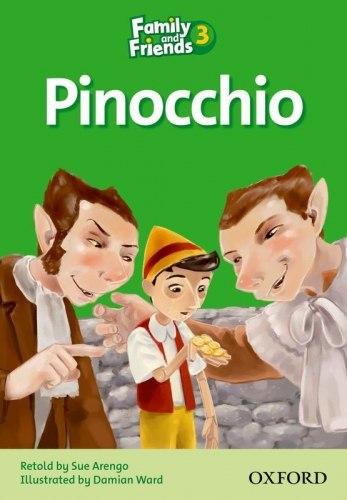 Family and Friends 3 Reader C Pinocchio / Книга для читання