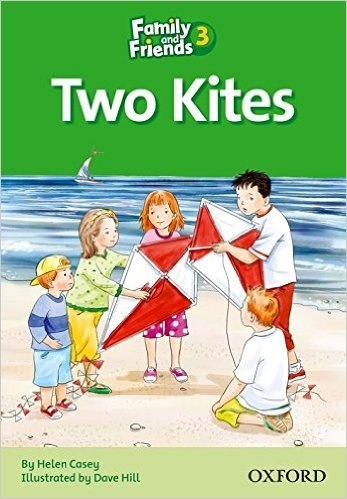 Family and Friends 3 Reader D Two Kites / Книга для читання