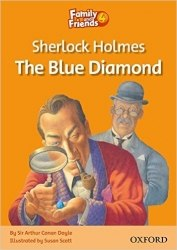 Family and Friends 4 Reader A Sherlock Holmes and the Blue Diamond / Книга для читання