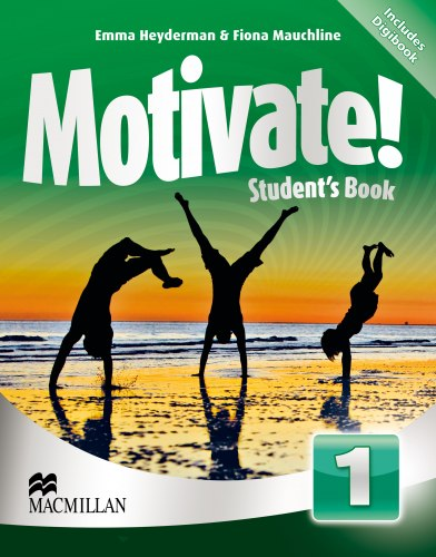 Motivate! 1 Student's Book with DVD-ROM with Digibook / Підручник для учня