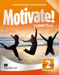 Motivate! 2 Student's Book with DVD-ROM with Digibook / Підручник для учня