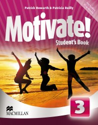 Motivate! 3 Student's Book with DVD-ROM with Digibook / Підручник для учня