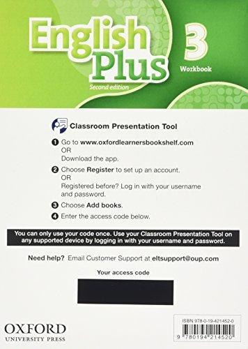 English Plus 3 (2nd Edition) Student's Book Classroom Presentation Tool eBook Pack / Ресурси для інтерактивної дошки